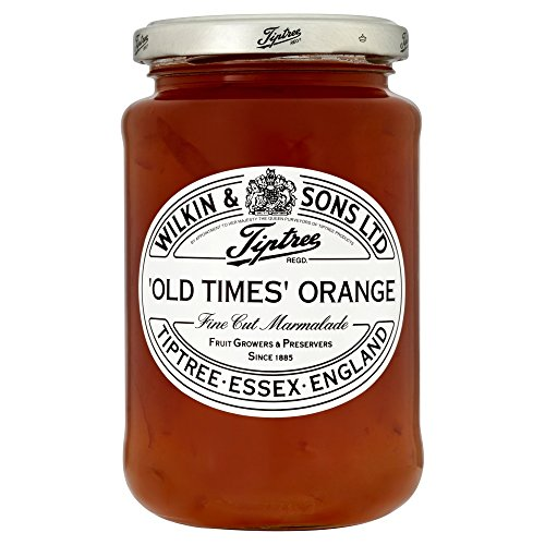 Tiptree Old Times Orange Marmalade, fine-cut - 454 Gramm !!!!