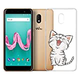 LJSM Coque Wiko Lenny 5 Silicone TPU Souple Case Crystal Clear Bumper Housse Etui de Protection Premium Transparent Soft Cover pour Wiko Lenny 5 (5.7') -WM141