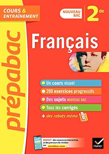 Français 2de - Prépabac Cours & entraînement : nouveau programme ...