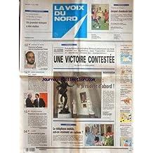 VOIX DU NORD (LA) [No 16476] du 07/06/1997 - ALGERIE - UNE VICTOIRE CONTESTEE - LES PARTISANS DU PRESIDENT ZEROUAL OBTIENNENT UNE LARGE MAJORITE - LE TELEPHONE MOBILE EST-CE VRAIMENT UN CADEAU - LES SPORTS - TENNIS - FOOT - UNION EUROPEENNE - JOSPIN ET L'EURO - EXORCISME DE ROUBAIX - 7 ANS DE PRISON POUR L'IMAM