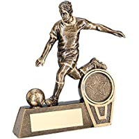 Gold Pool Ball On 3 Pronged Riser Trophy 7.25in FREE Engraving Bronze