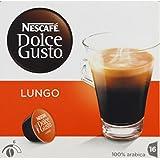 dolce gusto Dosettes de café pur arabica, Caffé Lungo - ( Prix Unitaire ) - Envoi Rapide Et Soignée