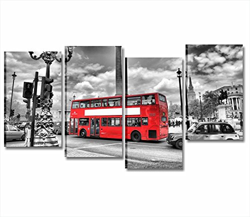 londres-bus-chassis-cadre-moderne-152-x-78-cm-impression-sur-toile-ville-skyline-paysages-metro-lond