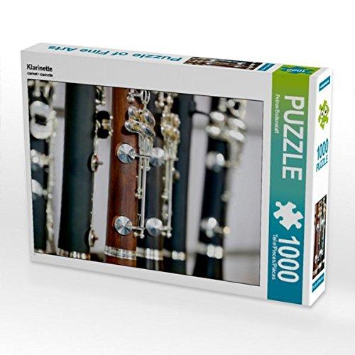 Klarinette 1000 Teile Puzzle quer (CALVENDO Kunst)