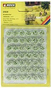 NOCH 07038 Blooming - Moldes para césped (diseño de Paisaje), Color Blanco
