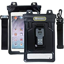 """Armor-X MX-U3X-BK Case Water-Tight for iPad Mini and Galaxy Tab 7 and Other 7 7.7"""" Tablets with X-Mount System"""