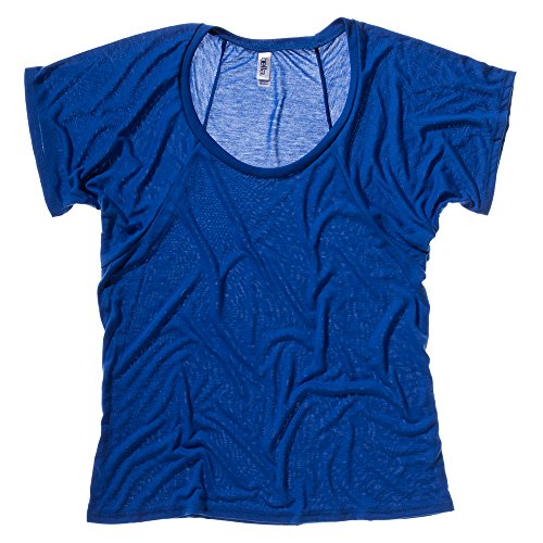Bella+Canvas Flowy raglan t-shirt True Royal