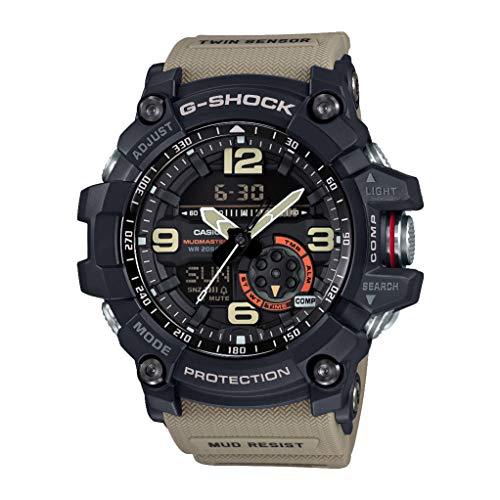 Casio orologio analogico-digitale uomo con cinturino in resina gg-1000-1a5er