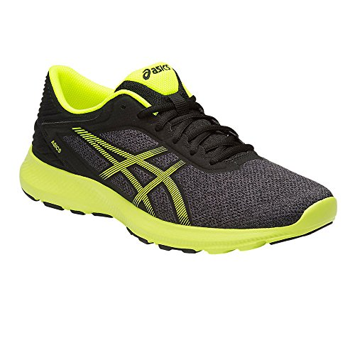 Asics Herren Nitrofuze Gymnastik Dark Steel / Safety Yellow / Black