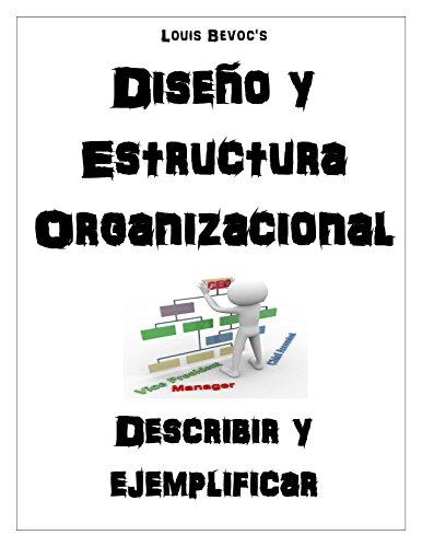 Diseño y Estructura Organizacional: Describir y ejemplificar