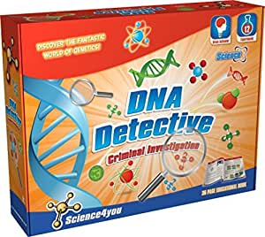 Science4you  Criminal Investiagtion DNA Detective  Educational Science Toy  STEM Toy