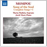Mompou: Complete Songs Volume 1 [Marta Mathéu, Jordi Masó] [Naxos: 8.573099]