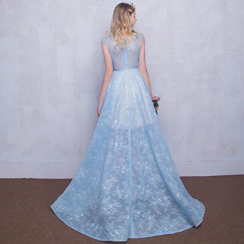 Vimans -  Vestito  - linea ad a - Donna Blue-long