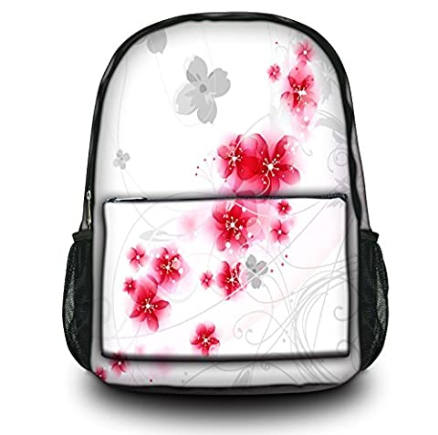 Luxburg® Design sac à dos multifonction cartable collège backpack, motif: