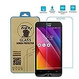 tinxi® Protezione invisibile Pellicola in vetro temperato per Asus Zenfone Go ZC500TG(5,0 pollici) superba protezione Salvaschermo e Film protettiva ultra-duro vetro 9H 2,5D