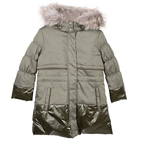 Catimini Manteau Enduit, Abrigo para Niñas, Gris (Vison 64), 4 Años (Tallas...