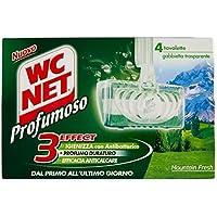 WC NET 4 Comprimés Pièces De Montagne Produits De Bain Frais