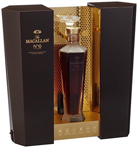 Macallan No. 6 in Lalique Decanter mit Geschenkverpackung