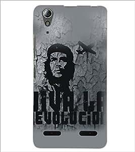 PrintDhaba Bob Marley D-5322 Back Case Cover for LENOVO A6000 PLUS (Multi-Coloured)