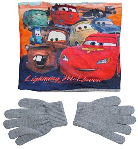 Disney Cars 3 Kollektion 2017 Snood Schlauchschal Schal und Handschuhe 3 - 7 Jahre One Size Loop Kragenschal mit Fleecefutter Lightning McQueen (3 - 7 Jahre; One Size) (Set Feen-pyjama)