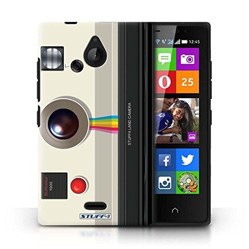 Kobalt® Imprimé Etui / Coque pour Nokia X2 Dual Sim / Sportif conception / Série Appareil Photo Instantanée Retro