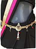 #5: Beautiful Gold Plated Waist Chain,kamarband, Belly Chain for Women for Festival/Wedding/Parties