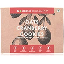Nourish Organics Oats Cranberry Cookies, 150g