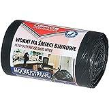 Kontorsprodukter 22021213-05 soppåsar 35 l – 50 stycken starka LDPE| sopsäckar sopsäck sopsäck sopsäck för hushållsavfall för
