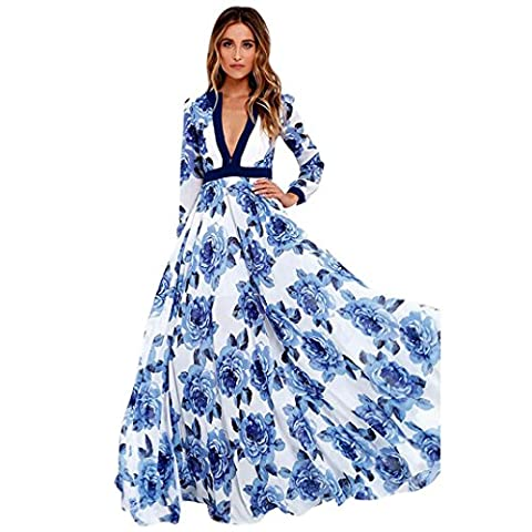 La Taille Des Robes Dété - Robe, Xinan Robe de soirée longue femme