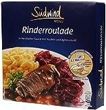 Herzhafte Rinderroulade in kräftiger Sauce mit Nudeln und Apfelrotkohl – Fertiggerichte für die Mikrowelle - Südwind Lebensmittel