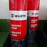 Clean Reiniger Industrie Reiniger Etiketten Würth 0893140