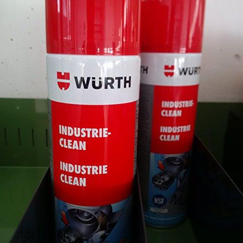 Clean Limpiador Industrial Limpiador etiquetas Wurth 0893140