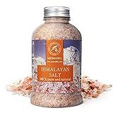 Sale Rosa dell'Himalayan600 g Prendere un bagno con il sale dell'Himalaya aiuterà a rilassarsi, alleviare la tensione, migliorare il sonno, liberarsi dalle tossine, purificare e ammorbidire la pelle, renderla liscia e levigata, saturare ...