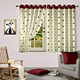 Cortina Embroidery Curtains for window(1...