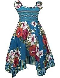 af662e3b446d6d Helgas Modewelt Mädchen Kleid, Sommerkleid, Kinderkleid, Partykleid,  Sommerliches Kleid für…