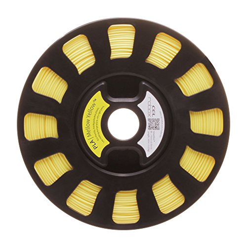 lecomptoir3d RBXPLAJAUNE CEL SMARTReel, PLA, Automatisation des paramètres d'impression, poids 750 g, diamètre 1,75 mm, jaune