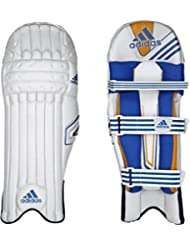 Adidas SL Pro Sports Junior Protection Cricket de batteur Pad Blanc/orange