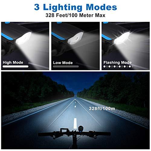 Zoom IMG-1 omeril luci bicicletta led ricaricabili