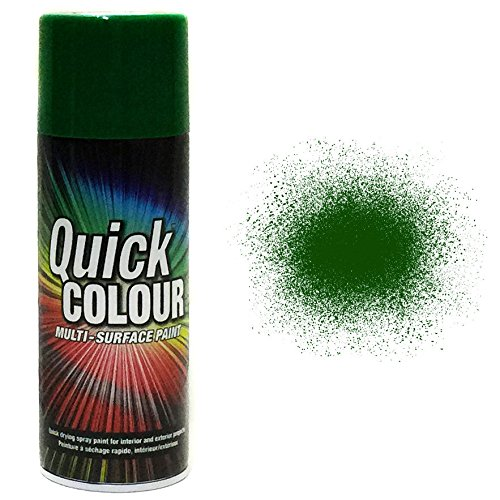 rust-oleum-quick-colour-multi-purpose-aerosol-spray-paint-400ml-oxford-green-gloss-3-pack