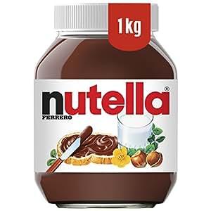 FERRERO Nutella Hazelnut Chocolate Spread, 1kg (Pack of 2)