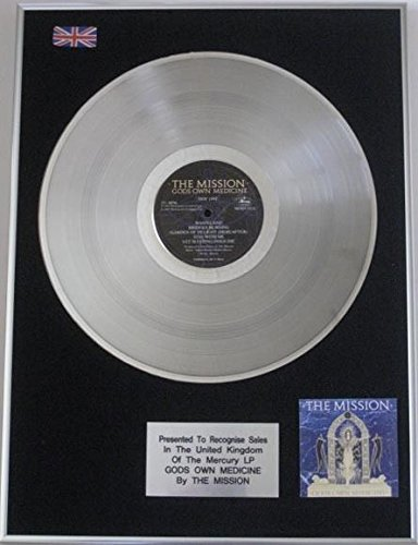 mission- LP Platinum Disc - Gods own medicine