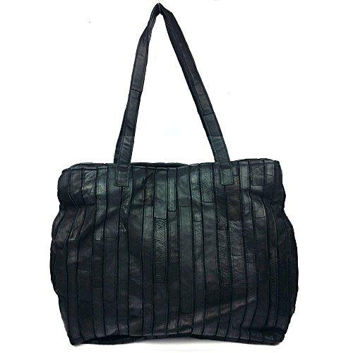 LongBao elegante custodia in pelle a sacchetto signora _2017 autunno e inverno volte, fare clic su borsa a tracolla in pelle elegante commercio all'ingrosso massima pacchetto nero ,9229 9229 NERO