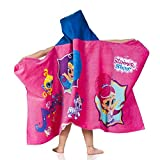 arena Kinder Cartoon Poncho Badehandtuch, Shimmer&Shine, One Size
