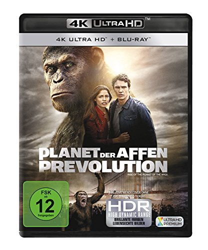 Planet der Affen: Prevolution (4K Ultra HD) (+ Blu-ray)