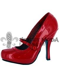 Pleaser EU-CUTIEPIE-02 - Zapatos de tacón de material sintético mujer