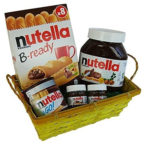 Geschenk Set Liebeszauber für Valentinstag, Muttertag und Geburtstag mit Ferrero Nutella Spezialitäten (Nutella Ferrero)