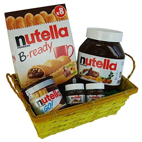 Preisvergleich Produktbild Geschenk Set Liebeszauber für Valentinstag,  Muttertag und Geburtstag mit Ferrero Nutella Spezialitäten (5-teilig)