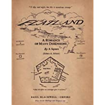 Flatland: A Romance of Many Dimensions [Illustrated] (English Edition)