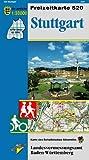 Stuttgart: Karte des Schwäbischen Albvereins (Freizeitkarten 1:50000 / Mit Touristischen Informationen, Wander- und Radwanderungen)