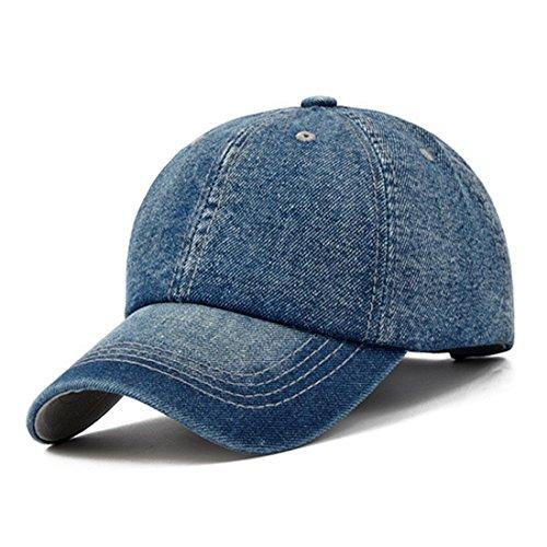 KeepSa Baseball Cap Snapback Chapeaux Hommes Femmes Casquettes Visière  Jeans Denim Os Gorras Vide Casquette Hat e7ac57b8a08